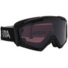 Alpina Panoma S Magnetic Q+S S1+S3 goggles zwart